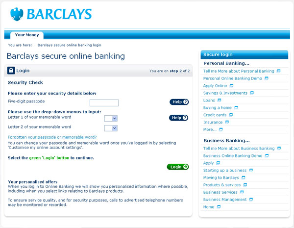 Los clientes de Barclays sufren un masivo ataque de phishing 48
