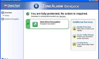Cifra el disco de tu portátil o netbook con ZoneAlarm DataLock 172