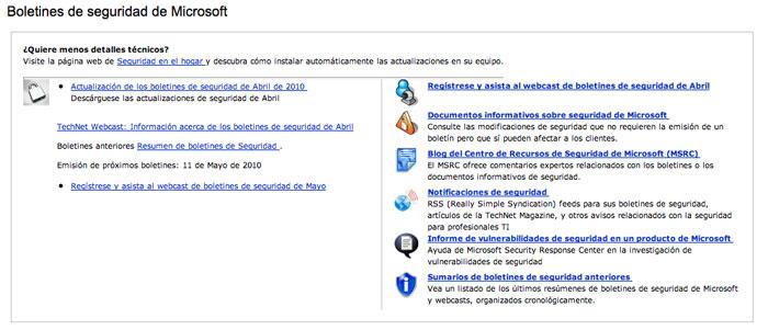 Microsoft publica sus boletines de seguridad del mes de abril 47