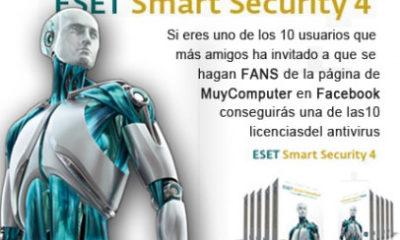 Consigue gratis una licencia de ESET Smart Security 4 Standard 62
