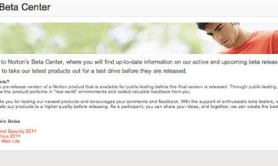 Ya puedes descargarte las versiones beta de Norton AntiVirus 2011 y Norton Internet Security 2011 62