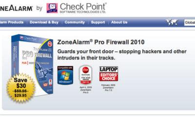 Consigue gratis ZoneAlarm Pro 2010 (sólo tienes 24 horas desde mañana día 13) 69