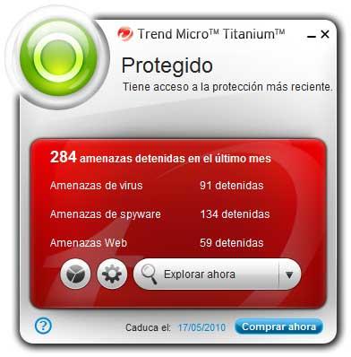 Trend Micro Titanium, un antivirus pensado para netbooks basado en la nube 49