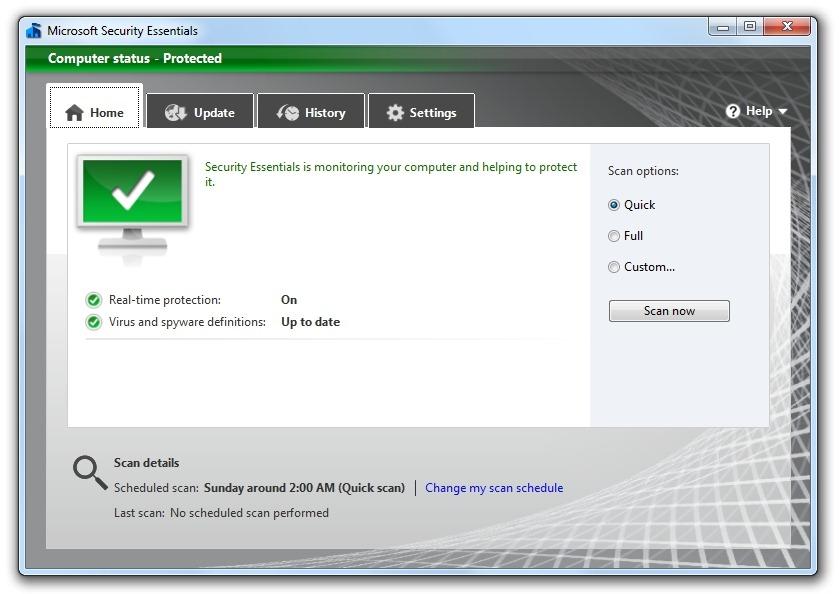 Microsoft publica la beta del nuevo Security Essentials 52