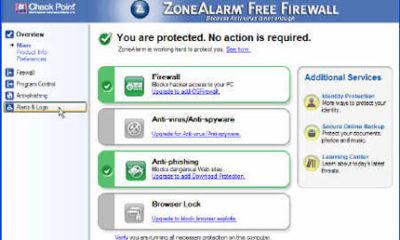 El cloud computing llega a ZoneAlarm Free Firewall de Check Point 54