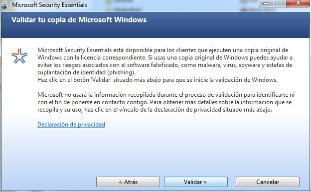 Se cumple un año del antivirus gratuito Microsoft Security Essentials