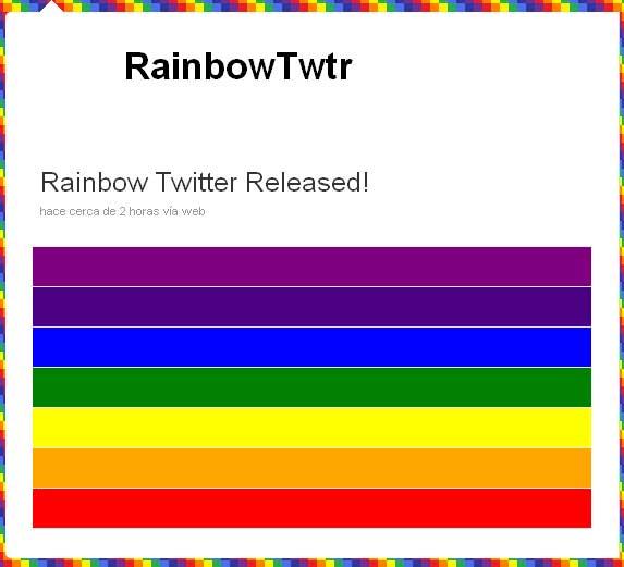 El gusano Rainbow ataca Twitter y afecta millones de usuarios