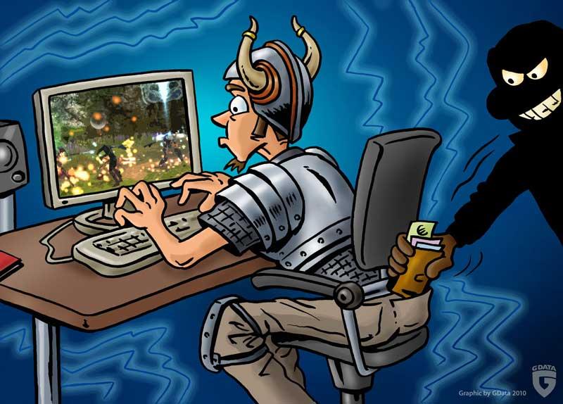 Cómo protegerse de las cibermafias cuando juegas en la Red