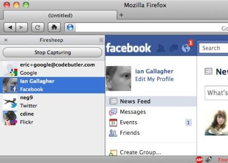 Firesheep, extensión Firefox que roba credenciales de Facebook / Twitter 49