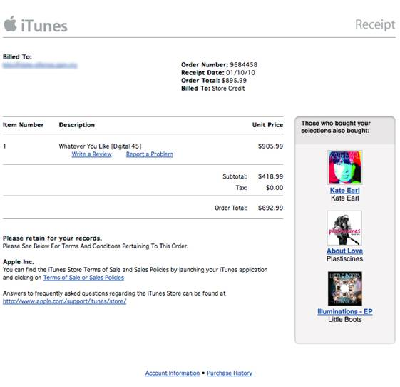 Campaña de phishing con iTunes como gancho para captar datos bancarios