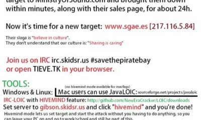 """Cómo han sido los efectos de la """"Operación PayBack"""" contra la SGAE"""