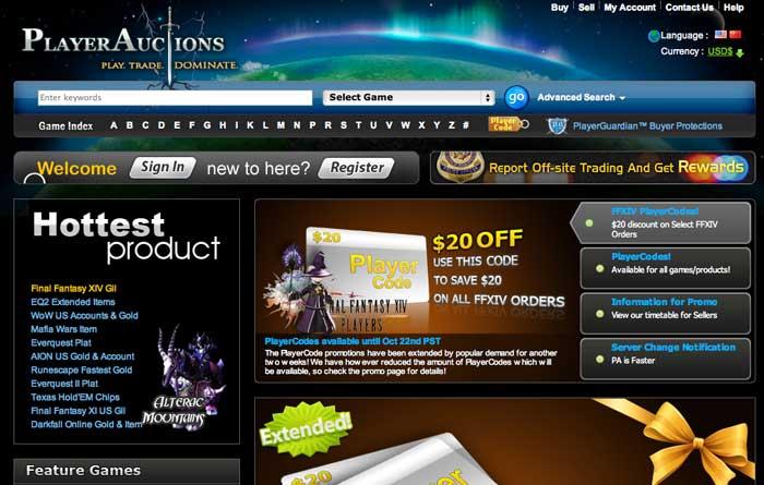 Mercado negro juegos on-line