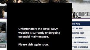 La web de la marina inglesa -Royal Navy- hackeada este fin de semana 171