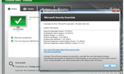 Microsoft Security Essentials 2.0 RTM 61
