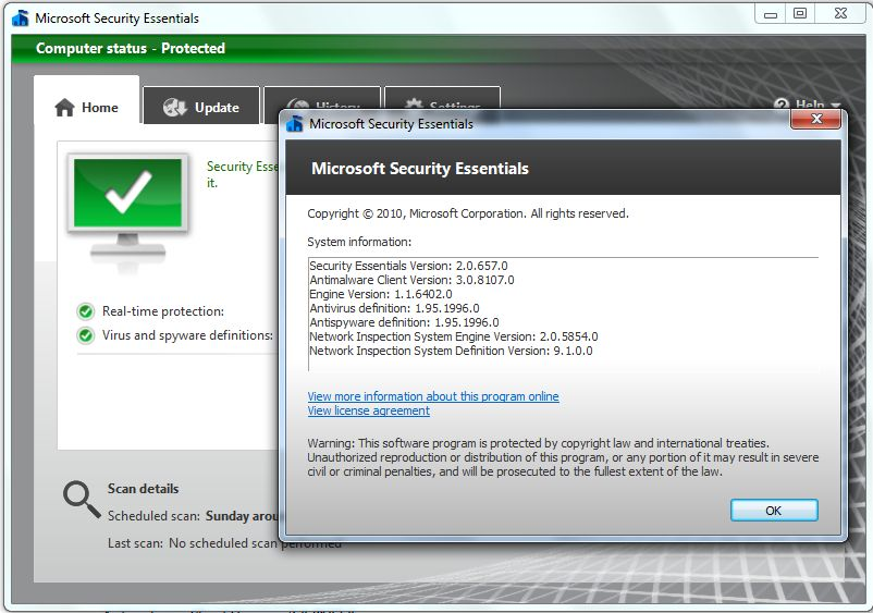 Microsoft Security Essentials 2.0 RTM 49