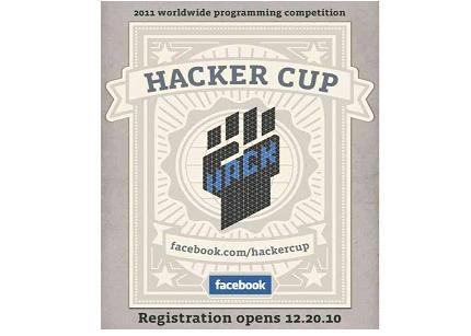 Competición hacker: Facebook Hacker Cup 2011 48