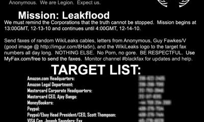Anonymous se pasa de ataques DDoS al spam a la antigua, vía Fax 61