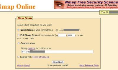 Nmap online, comprueba la seguridad de tu equipo en Internet 57