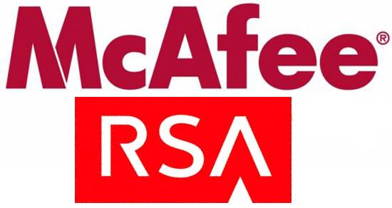 Alianza tecnológica McAfee y RSA