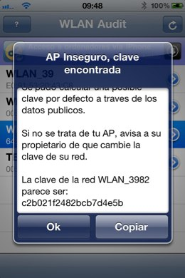 Hackea Wi-Fis con iPhone mediante WLAN_Audit 49