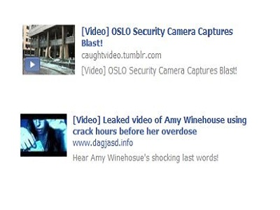 Amy Winehouse y la tragedia de Noruega los dos nuevos ganchos para llenarnos de spam