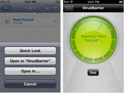 VirusBarrier, el primer escáner de malware para iOS