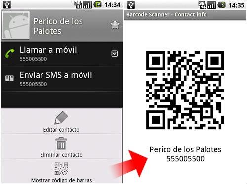 Código qr en Android