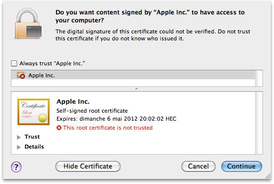 Nueva variante de Flashback ataca sistemas Mac OS X 47