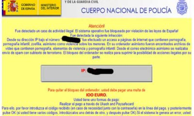 Estafa por Ramsonware: 'paga 100 euros por descargar pornografía' 75
