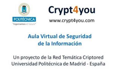 Segunda lección del curso gratuito de criptografía Crypt4you 69
