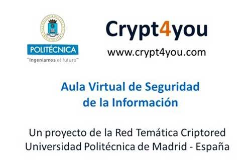 Crypt4you, cursos on-line gratuitos de criptografía y seguridad 49