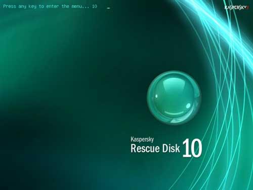 Guía completa de creación y uso de un USB con Kaspersky Rescue Disk 56