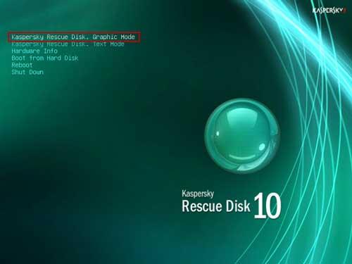 Guía completa de creación y uso de un USB con Kaspersky Rescue Disk 59
