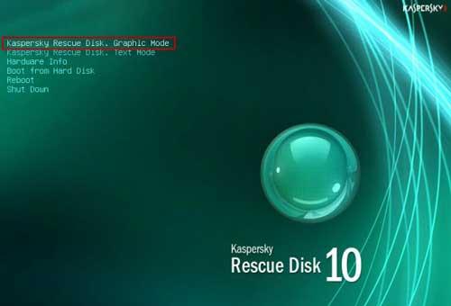 Guía completa de creación y uso de un USB con Kaspersky Rescue Disk 49