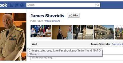 China espió a oficiales OTAN pasándose por 'amigos' en Facebook 58