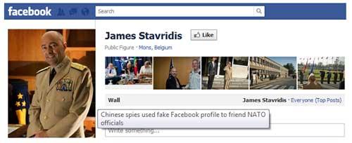 China espió a oficiales OTAN pasándose por 'amigos' en Facebook 49