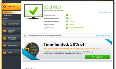 avast! Free 7 Final disponible 73
