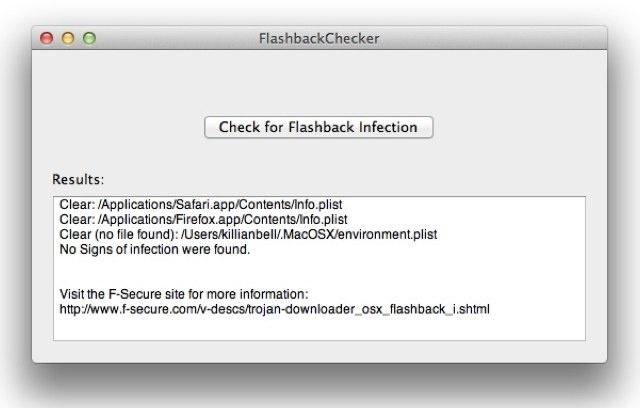 Flashback Checker analiza si tu Mac está infectado 48