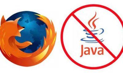 Mozilla bloquea versiones vulnerables de Java en Firefox 88
