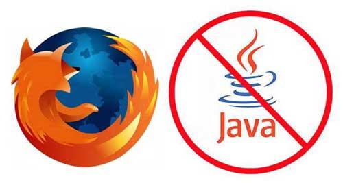 Mozilla bloquea versiones vulnerables de Java en Firefox 47
