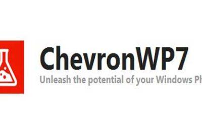 Cierra el proyecto oficial ChevronWP7 para Windows Phone 60