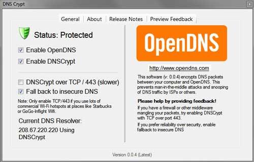 DNSCrypt para seguridad DNS, ahora disponible para sistemas Windows 46