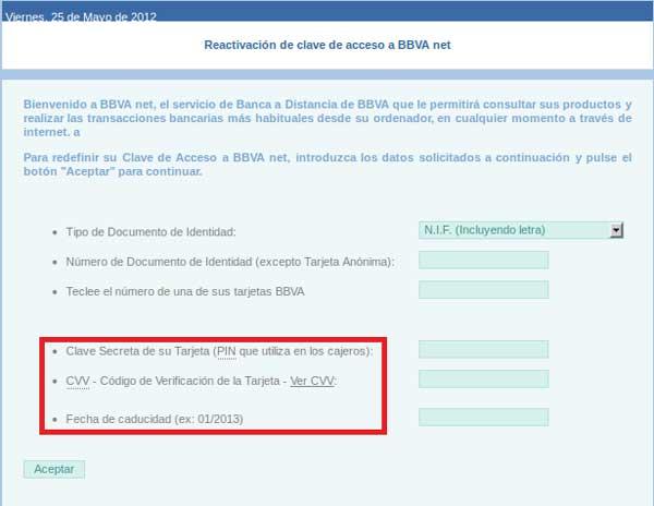 Nuevo Phishing bancario con el BBVA como gancho 52