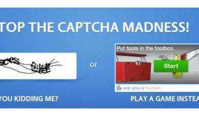 PlayThru sustituye el odioso CAPTCHA con un juego 63