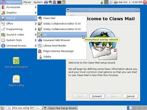 Nueva versión de Tails, distro Linux especializada en privacidad y anonimato 49