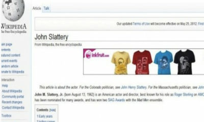 Si ves anuncios en Wikipedia, estás infectado 61