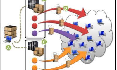 Un minuto en vídeo de la actividad global de las Botnets 53
