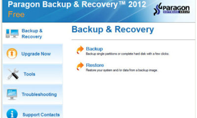 Paragon Backup & Recovery 2012, gratis y con soporte Windows 8 98