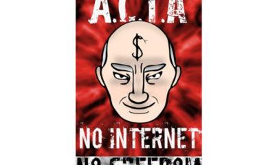 El Parlamento Europeo tumba la normativa antipiratería ACTA 70