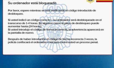 Vuelve el 'virus de la policía', ahora bajo una sanción de la AEPD 55